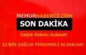 Fahrettin Koca, Bilim Kurulu toplantısının ardından açıklama yapıyor. 32 Bin Personel Alınacak!