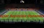 Gençlik ve Spor Bakanı Açıkladı! Maçlar Seyircisiz Oynanacak!