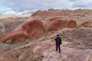 Sivas'ta burayı görenler kendini Mars'ta sanıyor
