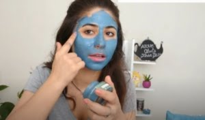 cilt bakım maskesi